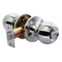 Дверные ручки КНОБЫ Rucetti (с механизмом) HK-01 WC PC Цвет - Полированный хром