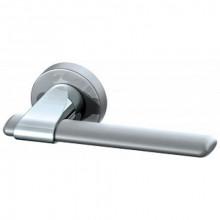 Межкомнатная дверная ручка Armadillo AJAX URB1 SN/CP/SN-12 Матовый никель/Хром/Матовый никель