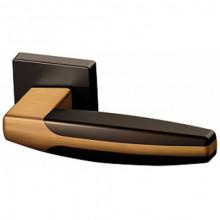 Межкомнатная дверная ручка Armadillo ARC USQ2 BB/SBB/BB- 17 Коричневая бронза/Мат. коричневая бронза/Коричневая бронза