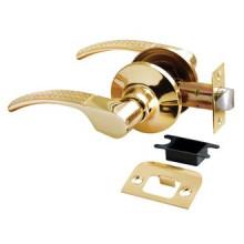 Дверные ручки КНОБЫ Rucetti (с механизмом) HK-04 SG/GP Цвет - Матовое золото/золото