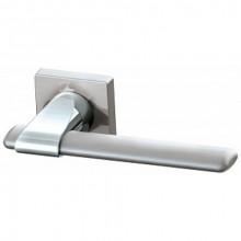 Межкомнатная дверная ручка Armadillo AJAX USQ1 SN/CP/SN-12 Матовый никель/Хром/Матовый никель