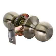 Дверные ручки КНОБЫ Rucetti (с механизмом) HK-01 AB Цвет - Античная бронза