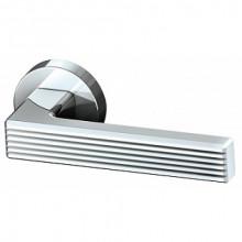Межкомнатная дверная ручка Armadillo LINE URB6 CP-8 Хром