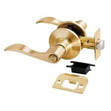 Дверные ручки КНОБЫ Rucetti (с механизмом) HK-03 WC SG Цвет - Матовое золото