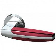 Межкомнатная дверная ручка Armadillo ARC URB2 СР/СР/Bordo-15 Хром/Хром/Бордовый