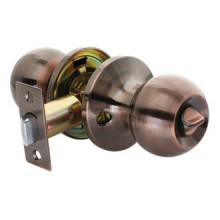 Дверные ручки КНОБЫ Rucetti (с механизмом) HK-01 WC AC Цвет - Античная медь