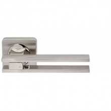 Ручка раздельная Armadillo BRISTOL SQ006-21SN/CP-3 матовый никель/хром