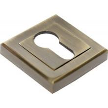Накладка на ключевой цилиндр RUCETTI RAP KH-S AB Цвет - Античная бронза