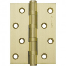 Петля универсальная Armadillo 500-C4 100x75x3 SG Матовое золото Box