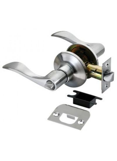 Дверные ручки КНОБЫ Rucetti (с механизмом) HK-03 WC SC Цвет - Матовый хром