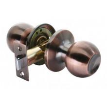 Дверные ручки КНОБЫ Rucetti (с механизмом) HK-01 AC Цвет - Античная медь