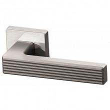Межкомнатная дверная ручка Armadillo LINE USQ6 SN-3 Матовый никель