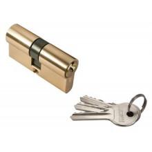 Ключевой цилиндр RUCETTI ключ/ключ (60 мм) R60C PG Цвет - Золото