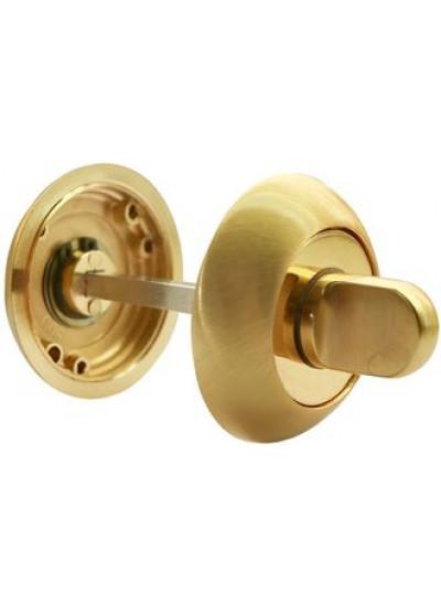 Завертка сантехническая RUCETTI RAP WC SG/GP Цвет - Матовое золото/золото