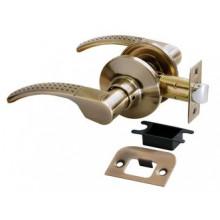 Дверные ручки КНОБЫ Rucetti (с механизмом) HK-04 AB Цвет - Античная бронза