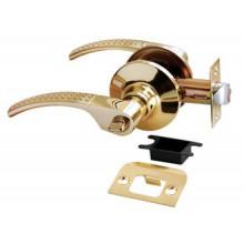 Дверные ручки КНОБЫ Rucetti (с механизмом) HK-04 WC SG/GP Цвет - Матовое золото/золото