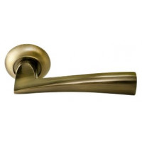 Дверные ручки RUCETTI RAP 18 AB Цвет - Античная бронза