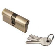 Ключевой цилиндр RUCETTI ключ/ключ (60 мм) R60C AB Цвет - Антчная бронза