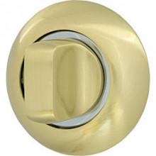 Ручка поворотная Armadillo WC-BOLT BK6-1SG/CP-1 матовое золото/хром