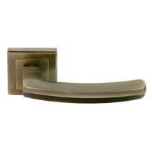 Дверные ручки RUCETTI RAP 11-S AB Цвет - Античная бронза