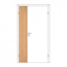 Полотно дверное Олови М3x21 Бук отв. часть 3D с/п
