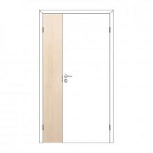 Полотно дверное Олови М3x21 Беленый дуб отв. часть 3D с/п