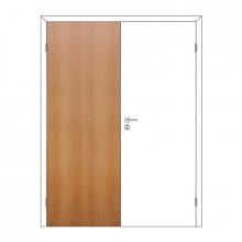 Полотно дверное Олови 600х2000 Миланский орех отв. часть, глухое, с/ф