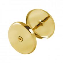 Щиток глухой SCHLOSS 114 M золото