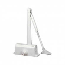 Доводчик 61103 40-65 кг (макс 75 кг) белый (10)
