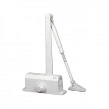 Доводчик 61302 80-120 кг (макс 150 кг) белый (10)