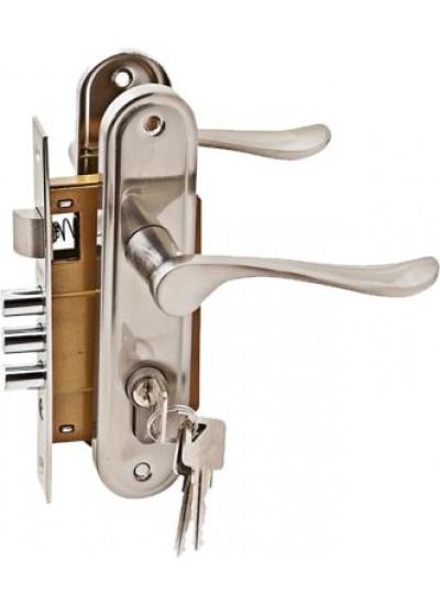 Комплект дверной PALIDORE LH7036-X11SN, Хром матовый
