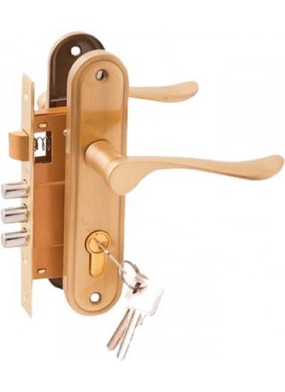 Комплект дверной PALIDORE LH7036-X11SB, Золото матовое