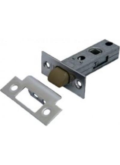 Защелка PALIDORE дверная межкомнатная с ПЛАСТИКОВЫМ ЯЗЫЧКОМ, 6-45 PC (nylon latch) хром