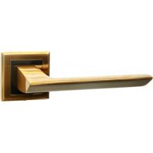 Ручка дверная на квадратной накладке BUSSARE ASPECTO A-64-30 COFFEE MOCHA кофе мокко