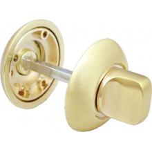 Поворотная ручка на круглой накладке MORELLI MH-WC GP золото