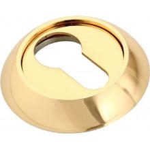 Накладка круглая на ключевой цилиндр MORELLI MH-KH GP золото