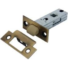 Защелка PALIDORE дверная межкомнатная с ПЛАСТИКОВЫМ ЯЗЫЧКОМ, 6-45 AB (nylon latch) бронза