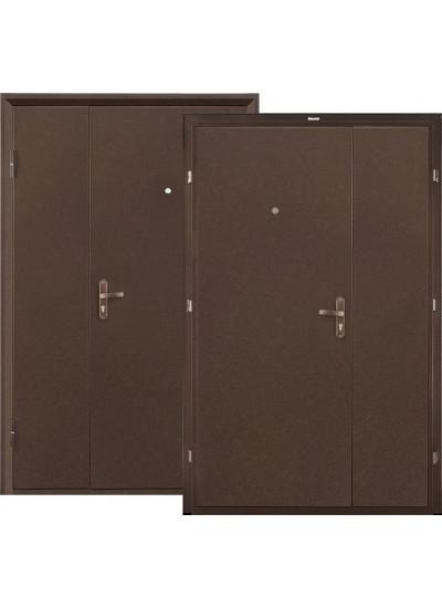Дверь стальная VALBERG ПРОФИ DL (Медный антик - Медный антик)