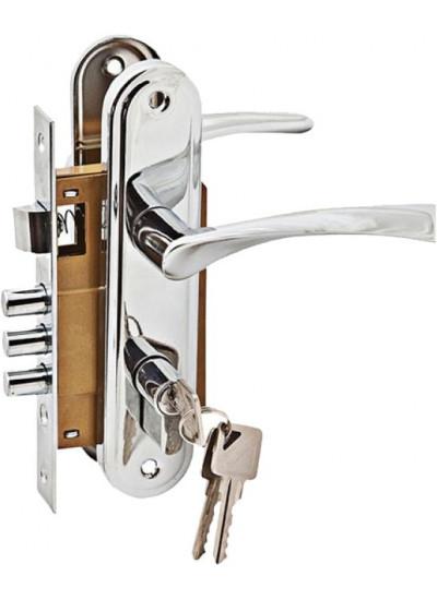 Комплект дверной PALIDORE LH7036-891PC, хром блест