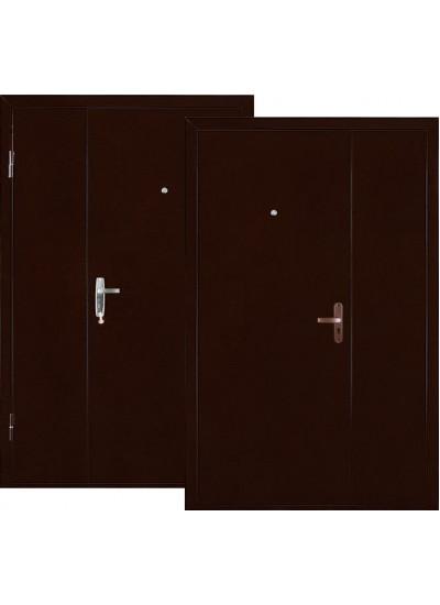 Дверь стальная VALBERG КВАРТЕТ DL (Медный антик - Медный антик)