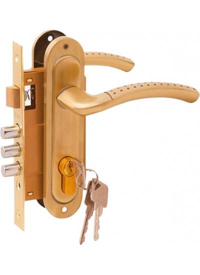 Комплект дверной PALIDORE LH7036-59SB, Золото матовое