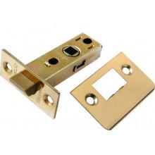 Защелка межкомнатная (пластиковый язычок) MORELLI LP6-45 PG золото