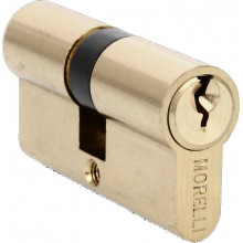 Ключевой цилиндр ключ/ключ MORELLI 60C PG золото