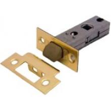 Защелка PALIDORE дверная межкомнатная с ПЛАСТИКОВЫМ ЯЗЫЧКОМ, 6-45 PB (nylon latch) золото