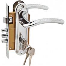 Комплект дверной PALIDORE LH7036-59PC, Хром блест