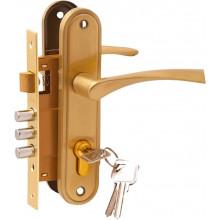Комплект дверной PALIDORE LH7036-891SB, золото матовое