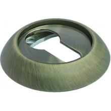 Накладка круглая на ключевой цилиндр MORELLI MH-KH MAB матовая античная бронза