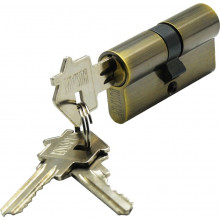 Цилиндр ключ-ключ BUSSARE CYL 3-60 BRONZE Античная бронза