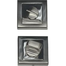 Завертка сантехническая на квадратной накладке BUSSARE WC-30 S.CHROME Хром матовый