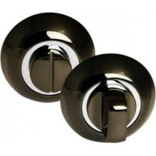 Завёртка PALIDORE сантехническая на круглой накладке OL BH, черный никель